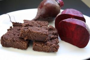 Black Bean Beet Brownies