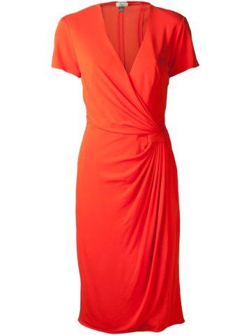 Issa London Wrap Dress $425 at FarFetch.com