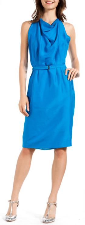 Bottega Veneta Silk Halter Dress $225 at Shop-Hers.com