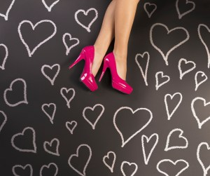 love affair with shoes