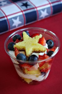 berry trifles