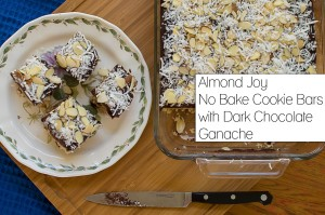 Almond Joy Cookie Bars from Fancy Shanty