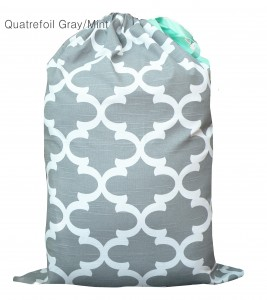 100 percent cotton laundry bag