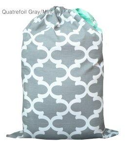 100 percent cotton laundry bag
