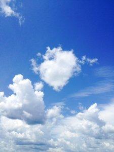 cloud that looks like heart
