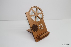 Steampunk iPhone Stand