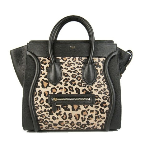 celine-bag-luggage-mini-tote-black-leopard-leather