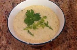 Chilled Asian Corn Soup