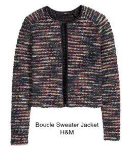 BoucleSweaterJacket