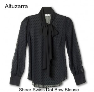 sheerdotblouse