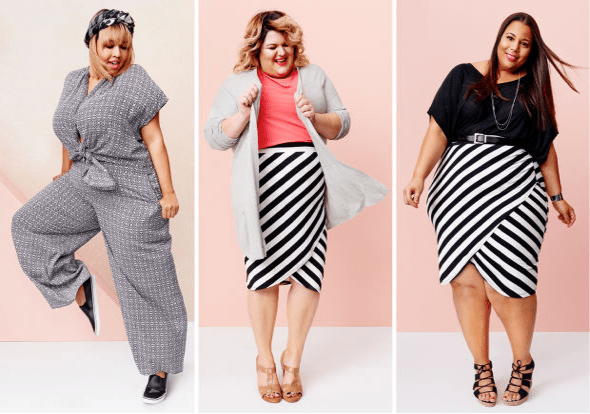 plus sized models fashion over 50