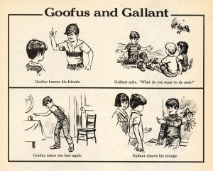 Gallant and Goofus