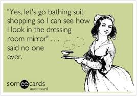 bathing suit shopping