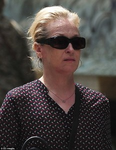 Meryl Streep without makeup