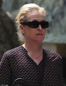 Meryl Streep without makeup