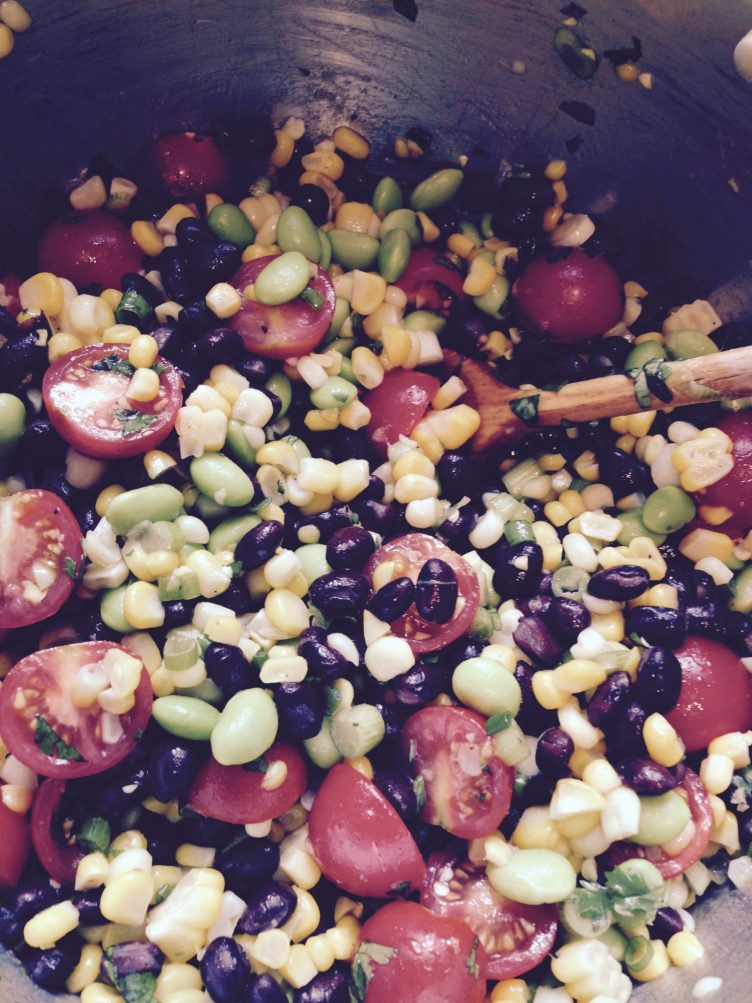 Summer Corn and Black Bean Salad