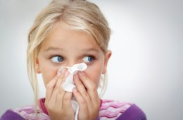 Child with cold