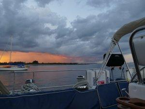 cool sunset