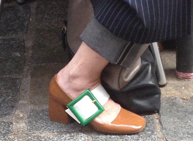 French Fashion Week Footwear vintage