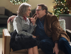 (Left to right) Diane Keaton and John Goodman in LOVE THE COOPERS  released by CBS Films and Lionsgate.