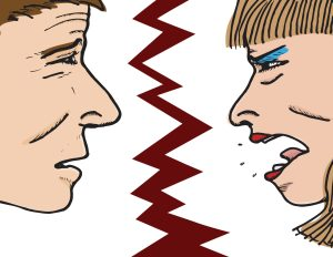 marital spat, marriage fight, fight with spouse