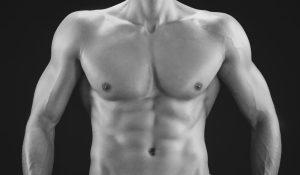 man breasts nipples