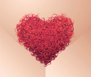 Pubes heart