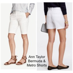 Ann Taylor Bermuda & Metro Shorts