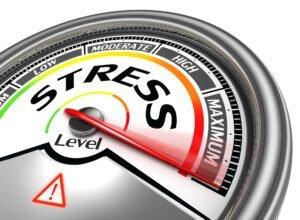 stress level conceptual background