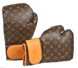 boxing gloves louis vuitton