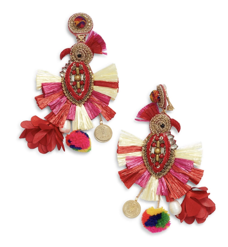Dangling Holiday Earrings That Are To Die For