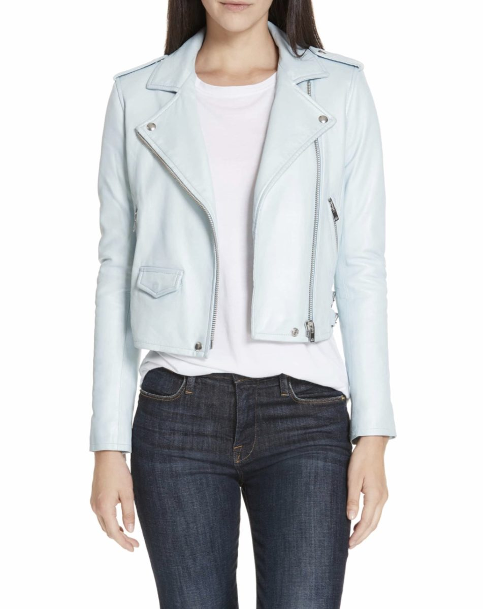 Pastel Leather Jackets To Celebrate You This Spring