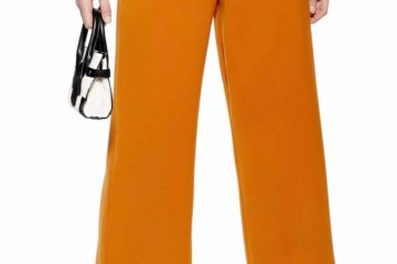 TopShop Buckle Wide Leg Pants