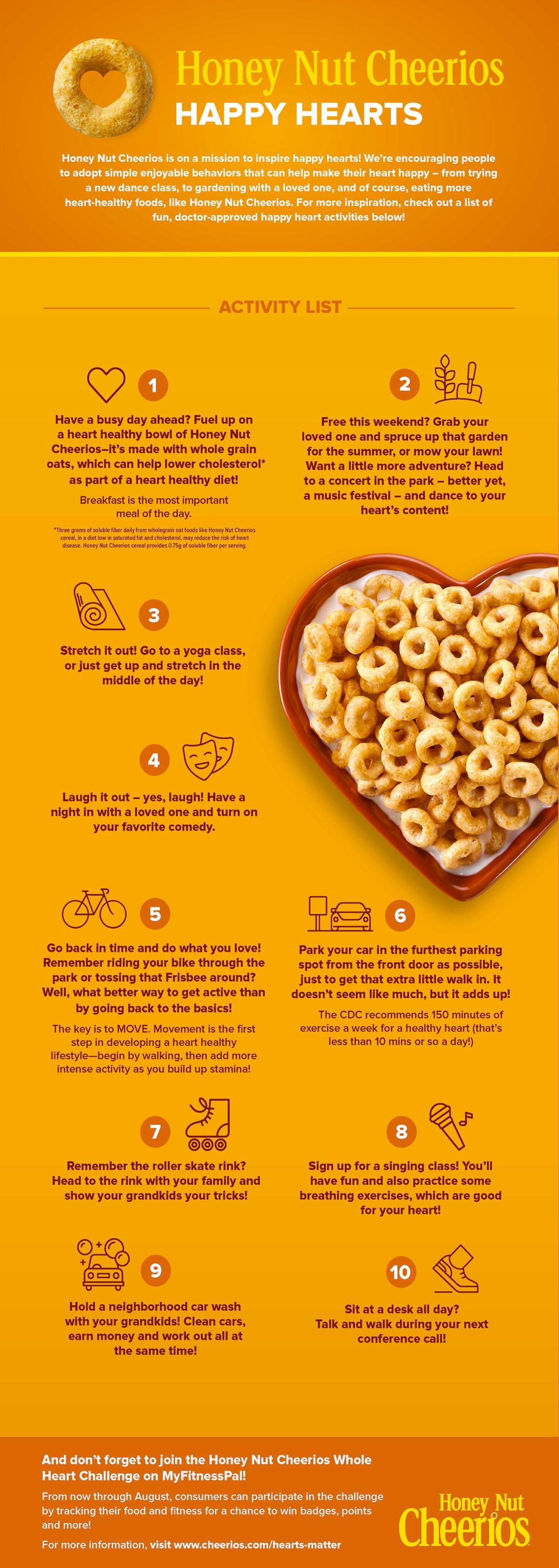 Cheerios Infographic