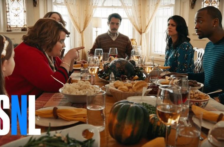 SNL Thanksgiving Dinner Video thumbnail