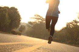 Woman running