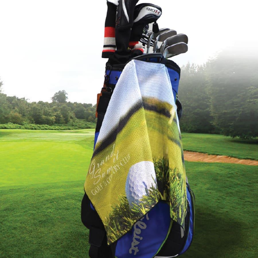Custom Waffle Golf Towel