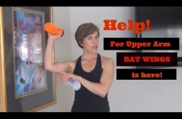Help for upper arm bat wings is here