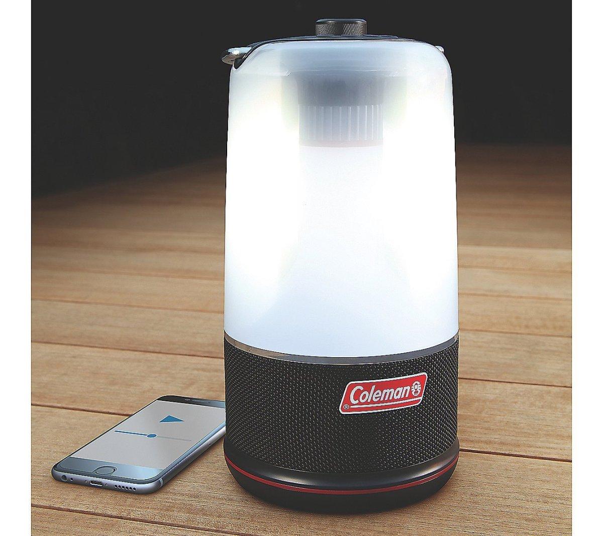 Coleman 360 Degree Light and Sound Bluetooth Lantern