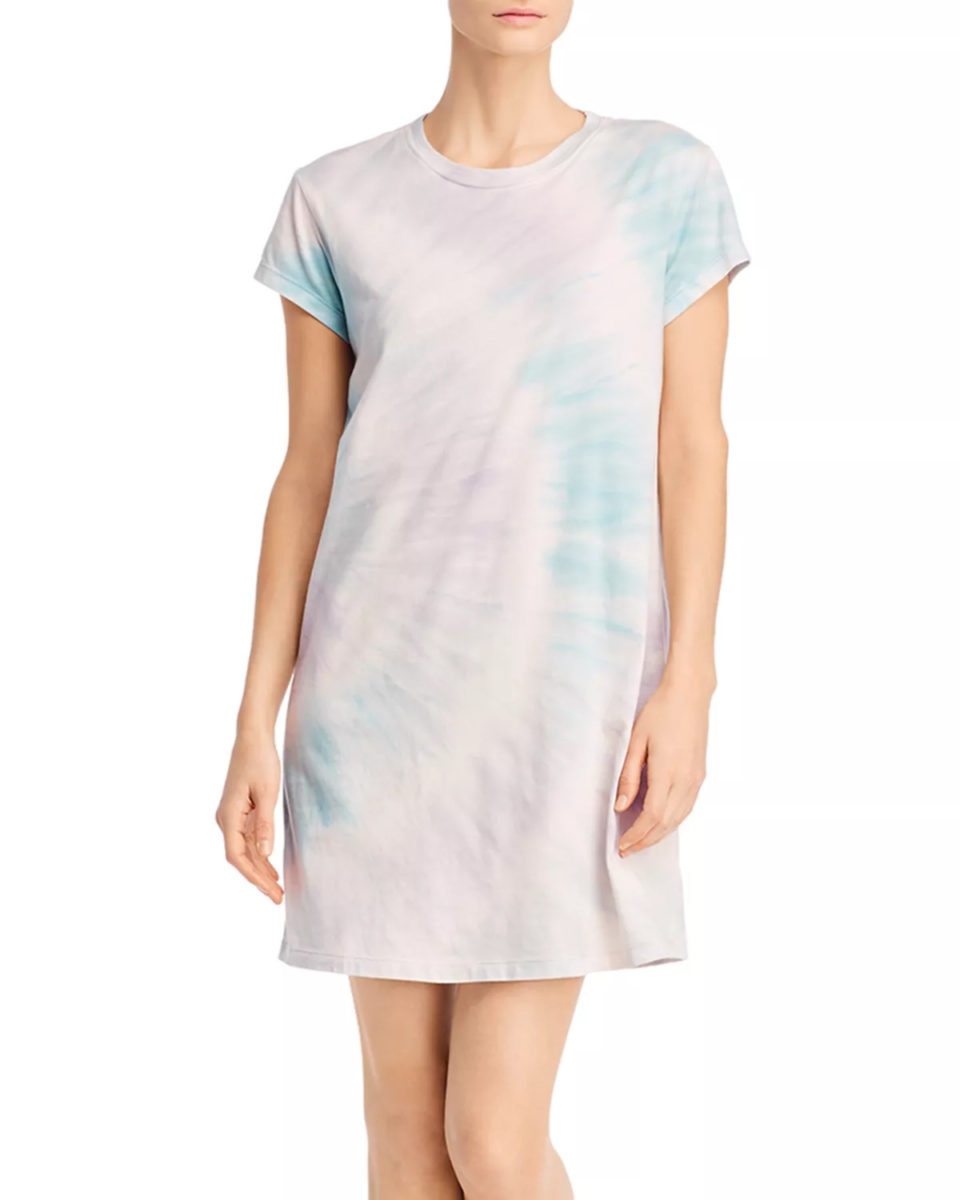Twilight Tie-Dyed Tee Dress