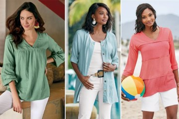Colorful tunics