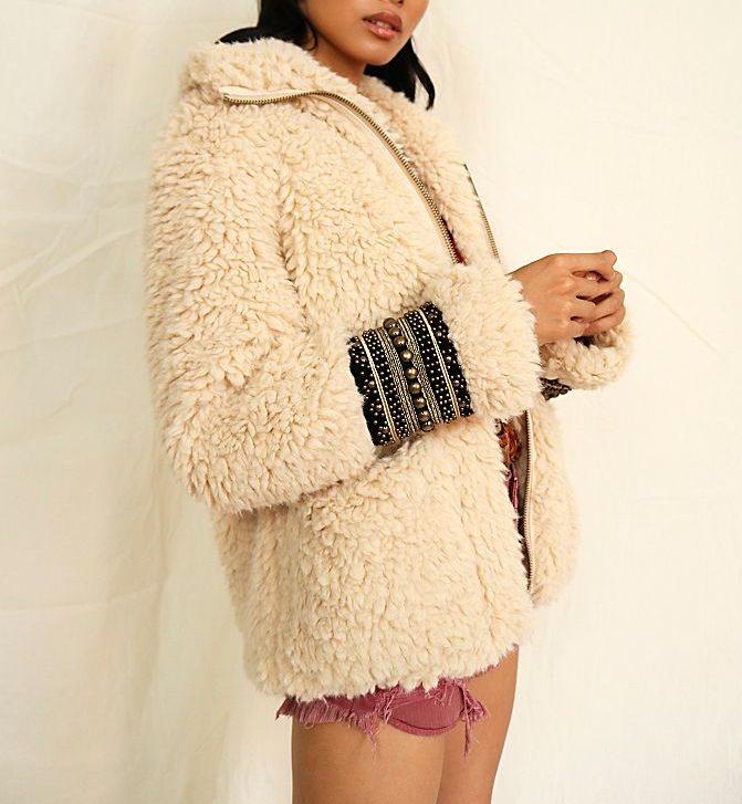 freepeople fur jacket
