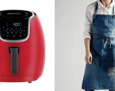 Air Fryer and Apron