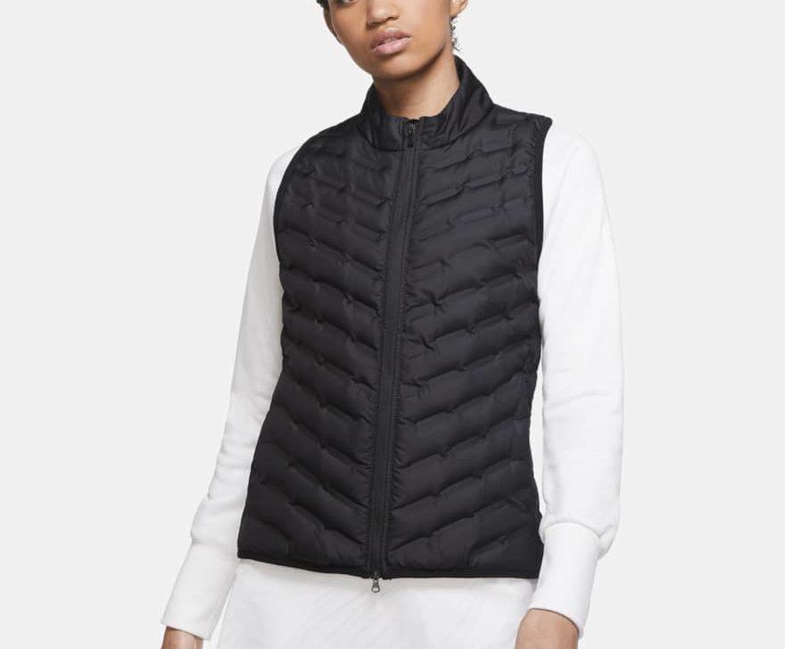 black golf vest