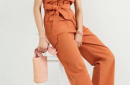 Tapered Utility Jumpsuit $158