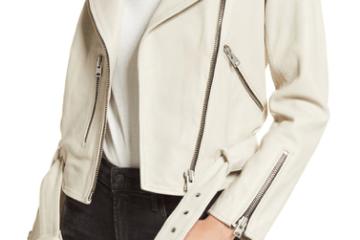 Balfern Leather Biker Jacket $325.90