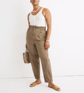 Pull-on Paperbag Pants $49.99