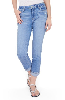 Brigitte High Waist Slim Fit Boyfriend Jeans
