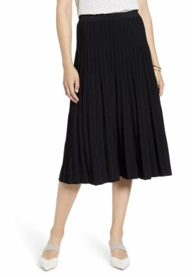 Halogen Pleated Knit Skirt $79.00