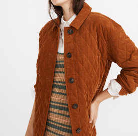 Madewell Quilted Walton Shirt-Jacket $168